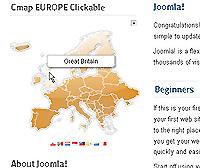 Joomla clickable map